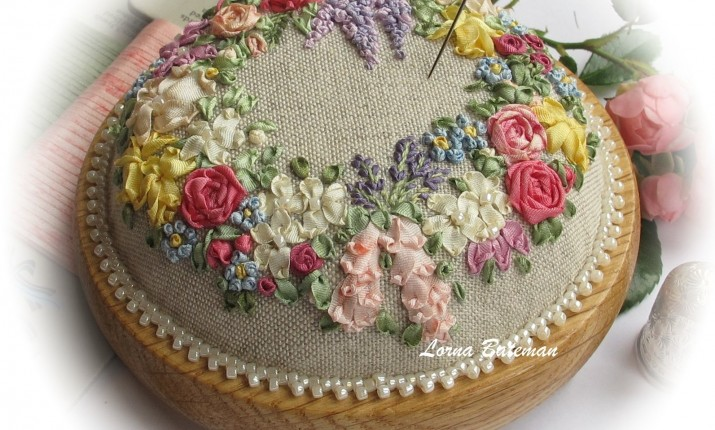 Embroidery With Lorna Bateman The Alpine Experience Summer Craft