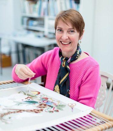 Nicola stitching